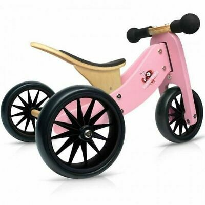 Kinderfeets - Tiny Tot Trike - Pink Educational Wooden Toy