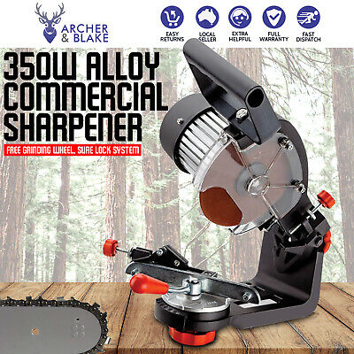 All Alloy Pro-Series 350W Electric Chain Sharpener Bench Grinder File Chainsaw