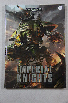 Warhammer 40,000 - Codex Imperial Knights Book Factory Sealed Brand New