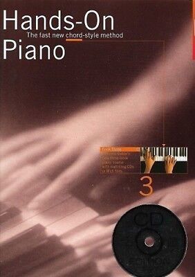 Partition+CD pour piano - Hands-On Piano - Piano - Book 3