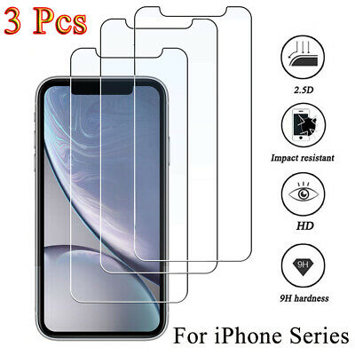100% Genuine Tempered Glass Film Screen Protector Protective  For LG Q6 K10 V30
