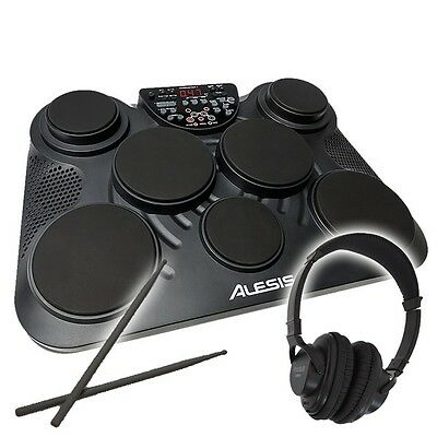 Alesis CompactKit 7 - Electronic 7 Pad Portable Table Top Percussion Drum Kit