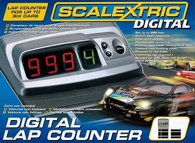 C7039 Scalextric Slot Car Racing Accessory Digital Lap Counter Brand New & Boxed