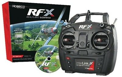 Great Planes RealFlight RF-X Simulator INTERLINK-X Controller - GPMZ4540