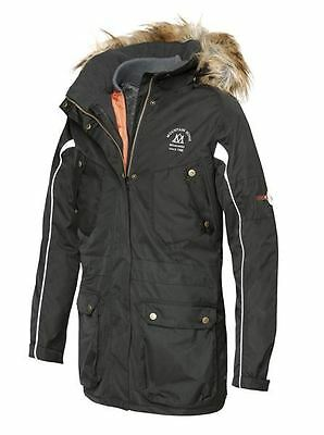 Mountain Horse Ladies Waterproof Breathable Quilted Riding Prospect Parka