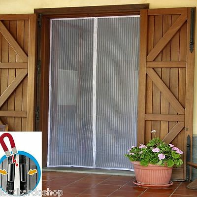 CURTAIN MOSQUITO NET MAGNETIC UNIVERSAL WITH INSECTS FLIES 240x140