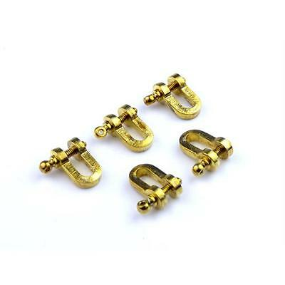 5 x Aero Naut Shackles With Bolts 12mm Model Boat Fittings