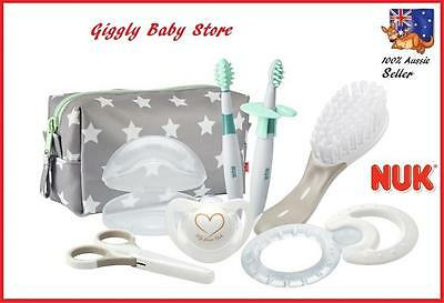 Nuk Welcome Newborn Brush Nail Tooth Training Brush Dummy Teether Qualitygiftset
