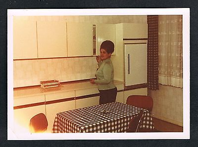 FOTO vintage PHOTO, Küche Frau kitchen woman femme cuisine /116y