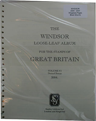 Windsor Vol VI 2004-2007 luxury album leaves. With mounts