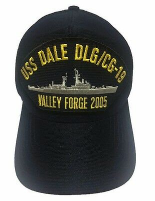 USS Dale DLG/CG-19 Valley Forge 2005 Snapback Hat Cap USN Made In USA