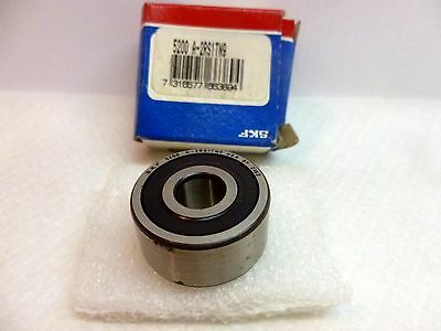 SKF 5200 A-2RS1TN9 Double-Row Ball Bearing, 10mm ID x 30mm OD x 14mm wide, C202