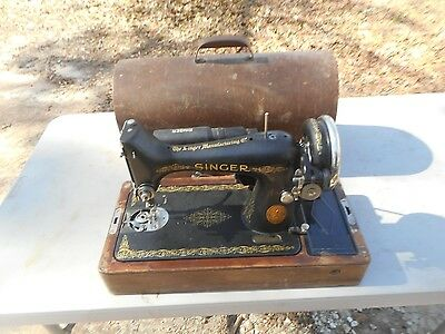 ** Antique 1936 Electric Singer Model 99 Sewing Machine Dome Cabinet **