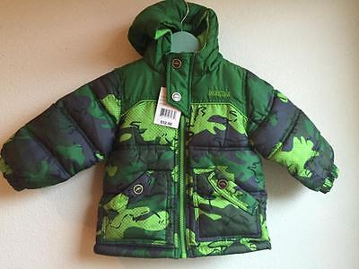 Baby Boys Coat Pacific Trail Size 18 Months Puffer Winter New NWT Camo