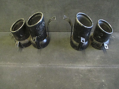 Pair of Audi R8 V8 2007-2012 Exhaust Tail Tips OEM 420 251 237 - 420 251 238