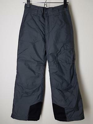 Columbia Ski Pants Youth 10 12 Snowboard Gray Insulated Girls Boys
