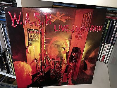 W.a.s.p Live In The Raw Lp Vinyl 1987 Capitol Records Canada Clt46053