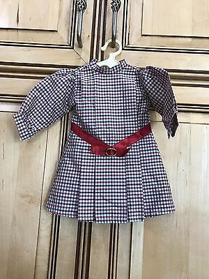"American Girl Doll 18"" Samantha Retired Meet Outfit Dress ONLY PC Hungary"