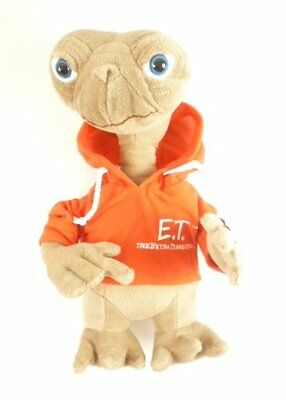 "13"" Et Extra Terrestrial Hoodie Plush Soft Toy Film Go Home Teddy Bnwt"