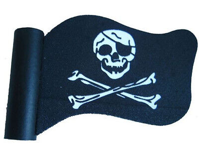 Pirate Flag Antenna Topper Ball