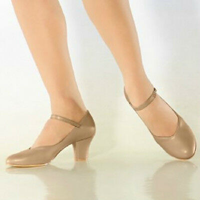 "So Danca CH52 Women's 4M (Fits 3.5) Tan 2"" Heel Character Shoe (with Defects)"