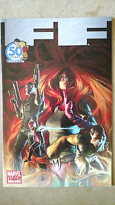 Ff #1 First Print Djurdjevic Variant Marvel Comics (2011) Fantastic Four Medusa