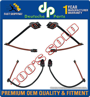 AUDI / VW Q7 Touareg FRONT + REAR Disc Brake Pad Wear Sensor 7L0907637C Set of 4