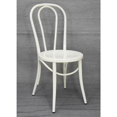 Replica Thonet No 18 Bentwood Metal Retro Dining Chair White