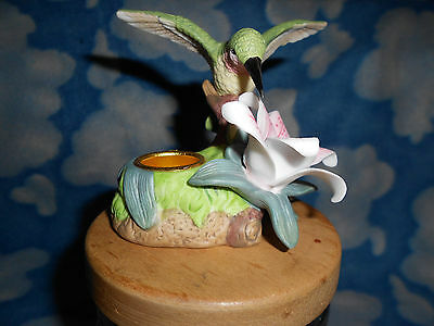 Avon Gift Collection Hummingbird Candle Holder
