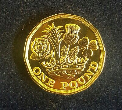 new uk / united kingdom, 2017 one / £1 pound coin