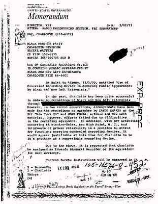 Black Panther Party FBI Files