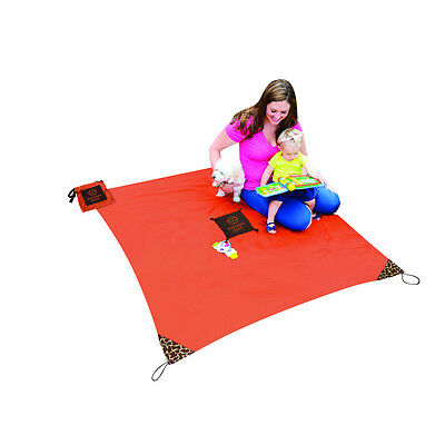 The Monkey Mat is a portable surface you can take EVERYwhere!-Orange Sunrise**