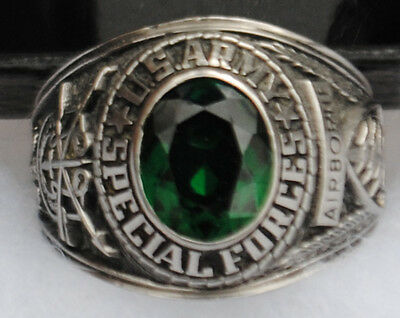Vintage Special Forces Stainless Steel Ring / Class Ring