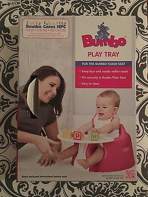 Bumbo Play Tray For The Bumbo Floor seat New