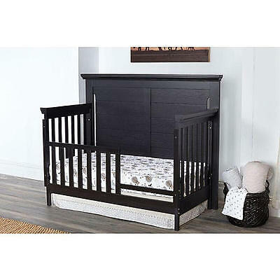 Baby Cache Overland Toddler Guard Rail - Forever Black