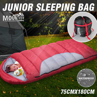 Camping Envelope Sleeping Bag Thermal Tent Outdoor Hiking Winter -10°C Single