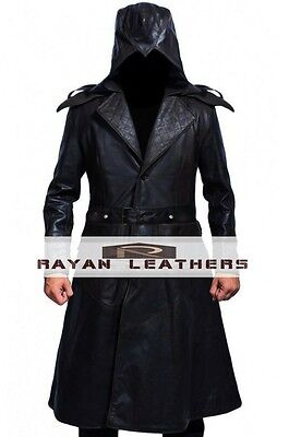 Assassins Creed Syndicate Jacob Frye's Leather Coat High Quality