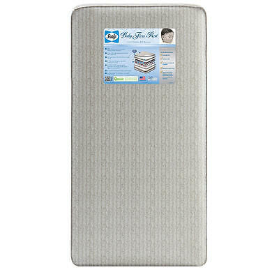 Sealy Baby Firm Rest 204 Coil Crib and Toddler Mattress