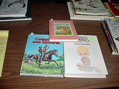 Precious Moments Stories From the Bible and Uncle Arthur Books, One in Spanish