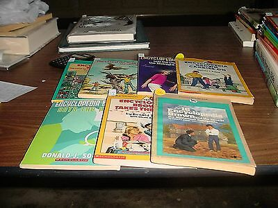 Encyclopedia Brown Books 11-16 including 15 and a half