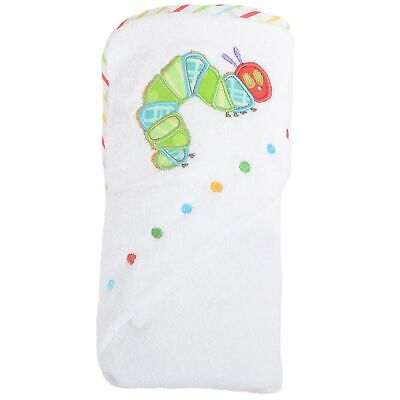 Very Hungry Baby Bath Bathing Caterpillar Hooded Cuddle Towel Robe