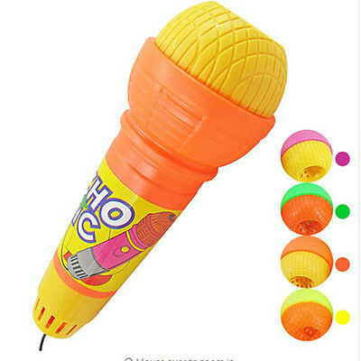 Echo Music Mic Voice Changer Microphone Modern For Children New Toy  Hot