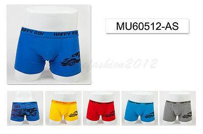 5pc Size 9 8-10 years Comfort Cotton Boys Boxer Briefs Jeep Kids Underwear