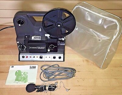 Canon PS-1000 Projector  Canosound 8mm Sound Vintage Cine