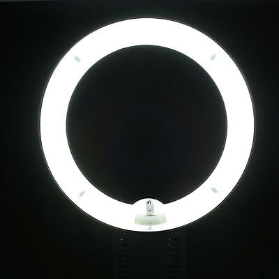 "12"" Fluorescent 40W Dimmable Ring Light Lamp for Camera Photo White Light"