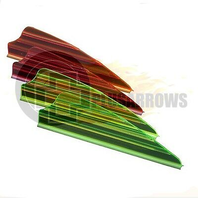 "Norway Industries Zeon Fusion Vanes 2.1"" Target, Hunting & 3D Archery Arrows"