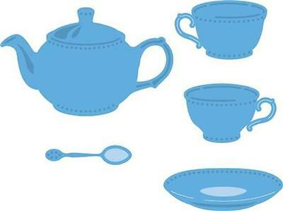 Marianne Design Creatable Die Cut Embossing Stencil Tea For You Pot Cup Lr0462