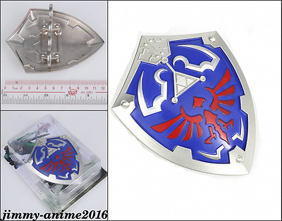 The Legend of Zelda metal mini ring shield Cosplay prop Collection Toy
