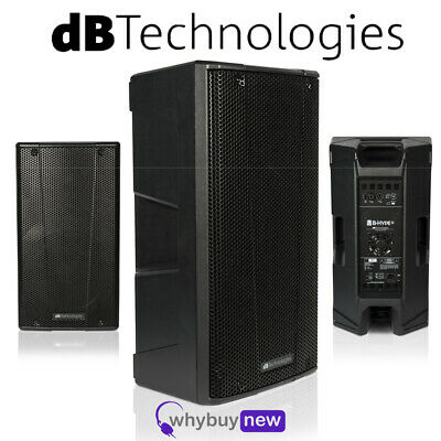 """db Technologies B-Hype 12 Active Powered 12"""" Portable DJ Disco Stage PA Speaker"""