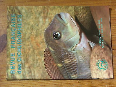 $$ Revue francaise des Cichlidophiles N°249 Tanganyika  Dimidiochromis  Gunther